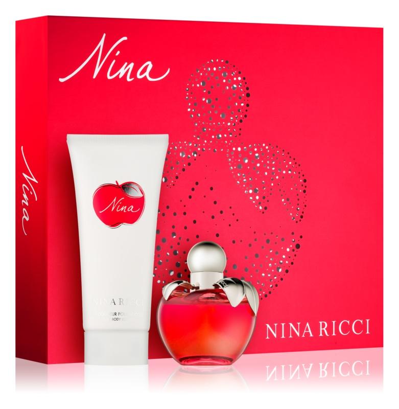 Nina Ricci Nina lote de regalo VIII.