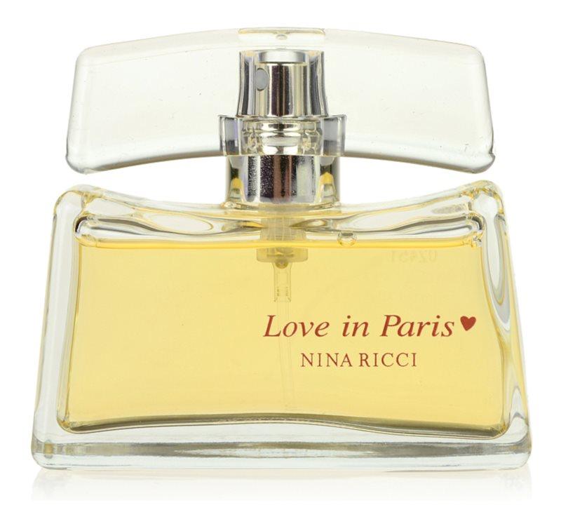 Nina Ricci Love in Paris eau de parfum pour femme 50 ml