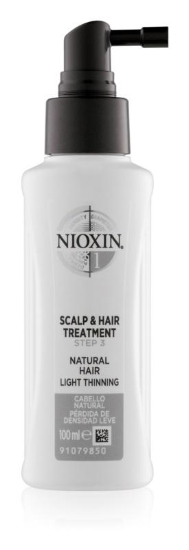 Nioxin System 1 bezoplachová starostlivosť pre jemné alebo rednúce vlasy