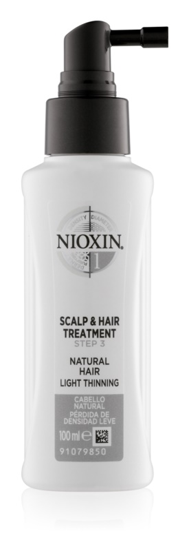 Nioxin System 1 незмиваючий догляд для ослабленого та рідкого волосся