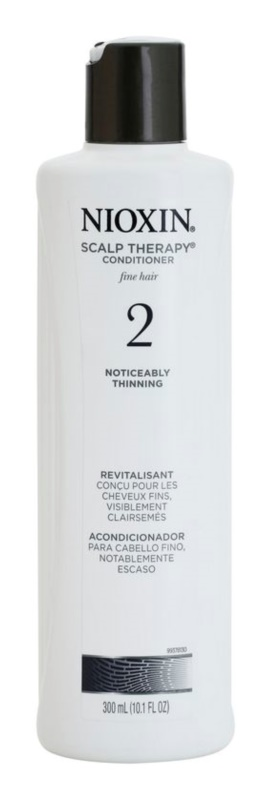 Nioxin System 2 Scalp Therapy kondicionér pro výrazné řídnutí jemných přírodních vlasů