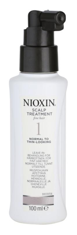 Nioxin System 1 tratamiento para cuero cabelludo redensificante para cabello fino