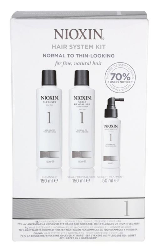 Nioxin System 1 lote cosmético I.