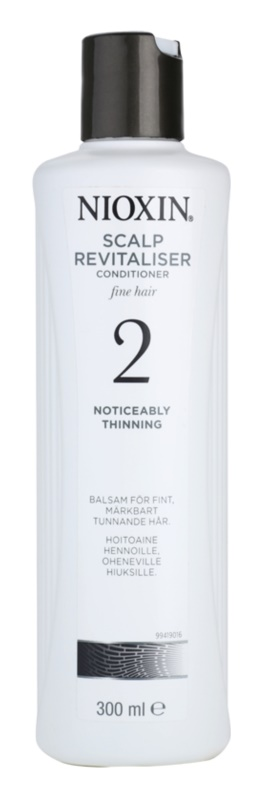 Nioxin System 2 Conditioner To Treat Noticeable Thinning Of FineNatural Hair