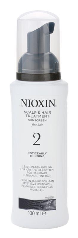 Nioxin System 2 Hautpflege für die sichtbare Verminderung von feinen Härchen