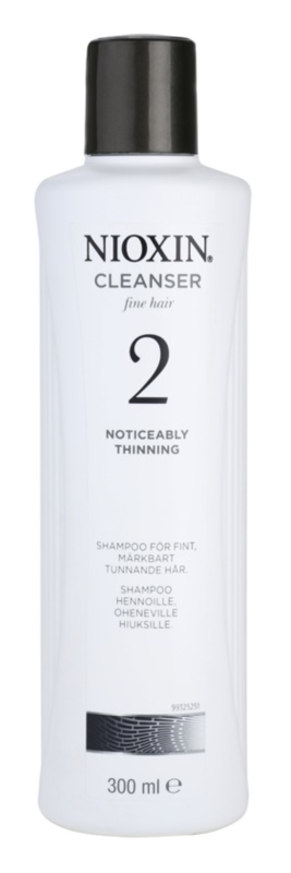 Nioxin System 2 Shampoo To Treat Noticeable Thinning Of FineNatural Hair