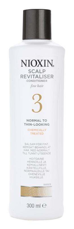 Nioxin System 3 lekka odżywka do włosów delikatnie przerzedzonych, cienkich, poddawanych zabiegom chemicznym