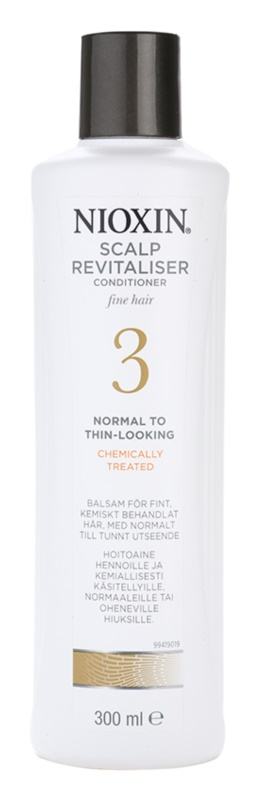 Nioxin System 3 Lichte Conditioner  voor Licht Beginnend Dun wordend Haar na Chemische Behandeling