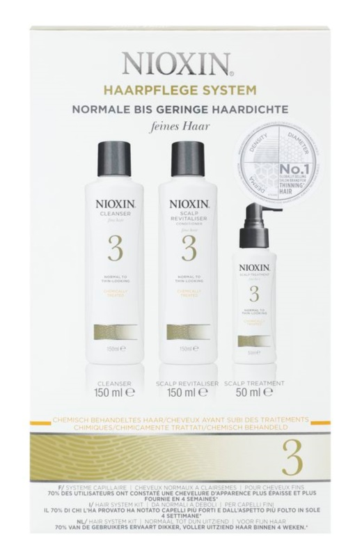 Nioxin System 3 kosmetická sada I.