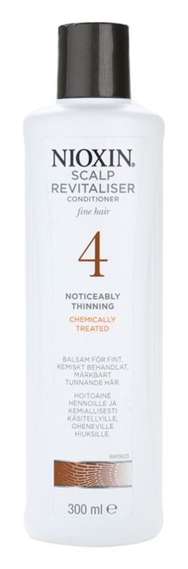 Nioxin System 4 Conditioner for Noticeably Thinning, Fine, Chemically-Treated Hair