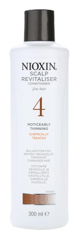 Nioxin System 4 odżywka do włosów widocznie przerzedzonych, cienkich i po zabiegach chemicznych