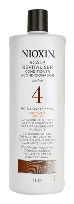 Nioxin System 4 acodicionador para el cabello intensamente escaso, fino y químicamente tratado