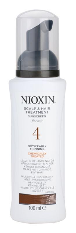Nioxin System 4 kúra a jelentősen ritkuló, gyenge és kémiailag kezelt hajra