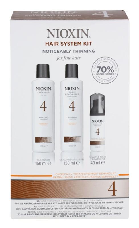 Nioxin System 4 Cosmetica Set  I.