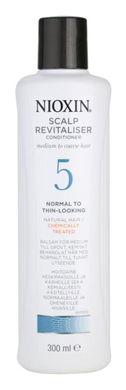 Nioxin System 5 könnyű kondicionáló vegyileg kezelt finom, normál vagy erős szálú haj enyhe ritkulása ellen