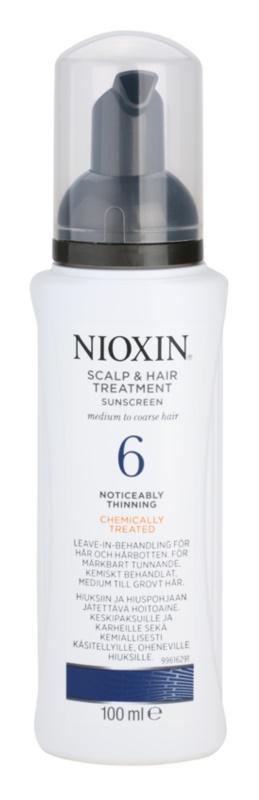 Nioxin System 6 ošetření pokožky pro výrazné řídnutí normálních až silných, přírodních i chemicky ošetřených vlasů