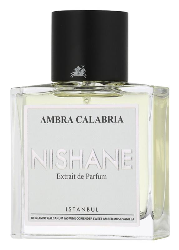 Nishane Ambra Calabria extracto de perfume unisex 50 ml