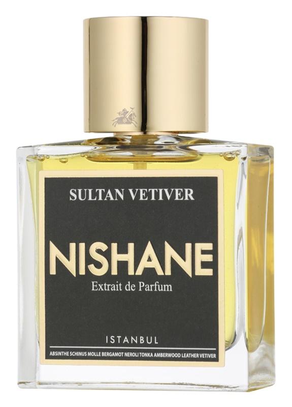 Nishane Sultan Vetiver extrato de perfume unissexo 50 ml