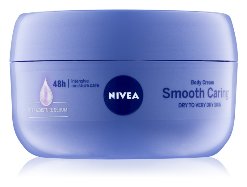 Nivea Smooth Caring крем для тіла для сухої та дуже сухої шкіри