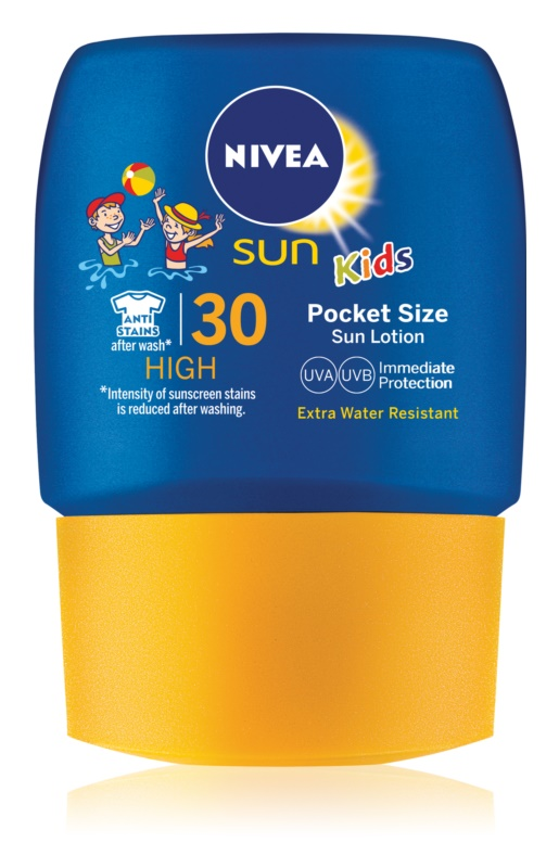 Nivea Sun Kids lapte de plajă de buzunar, pentru copii SPF30