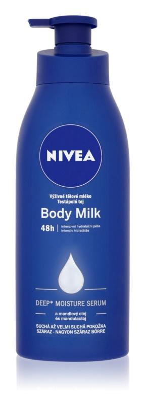 Nivea Body Milk vyživující tělové mléko pro velmi suchou pokožku