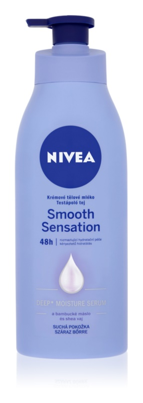 Nivea Smooth Sensation leite corporal hidratante para pele seca