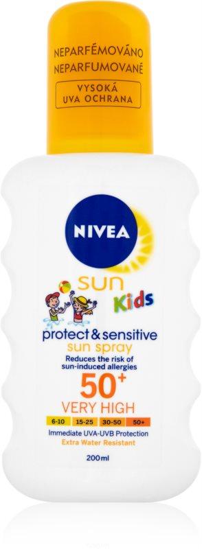 Nivea Sun Kids otroško pršilo za sončenje SPF 50+