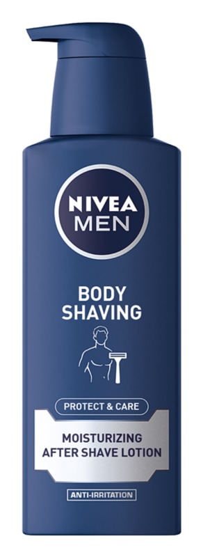 Nivea Men Protect & Care leite corporal after shave