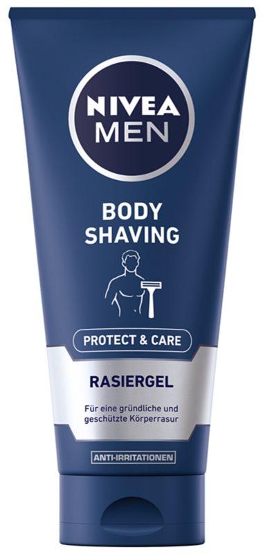 Nivea Men Protect & Care gel na holení těla