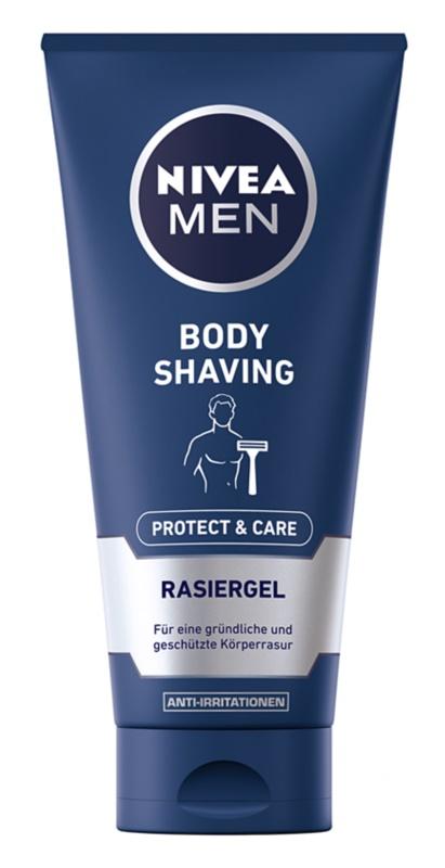 Nivea Men Protect & Care гель для гоління