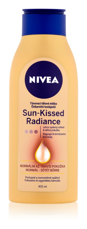 Nivea Sun-Kissed Radiance tónovací mléko