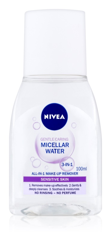 Nivea Gentle Caring upokojujúca micerálna voda 3v1