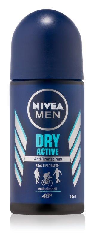 Nivea Men Dry Active кульковий антиперспірант