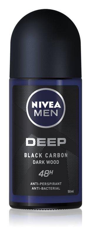 Nivea Men Deep кульковий антиперспірант 48 годин