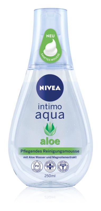 Nivea Intimo Aloe hydratačná pena na intímnu hygienu