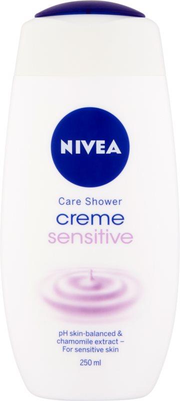 Nivea Creme Sensitive krémes tusoló gél az érzékeny bőrre