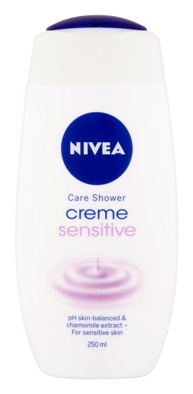 Nivea Creme Sensitive кремовий гель для душу для чутливої шкіри