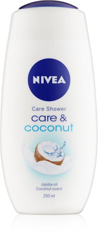 Nivea Care & Coconut krémový sprchový gél