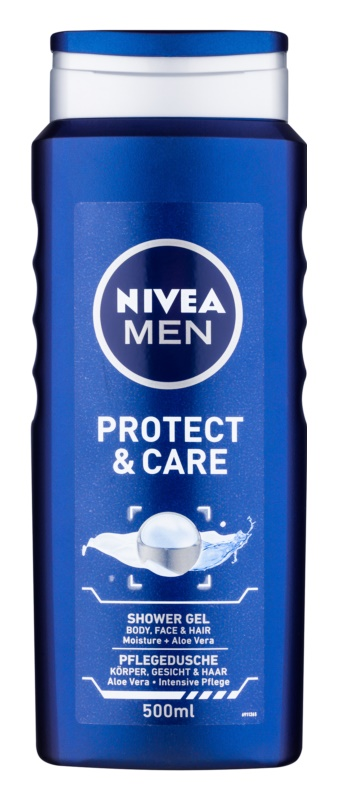 Nivea Men Protect & Care gel de douche 3 en 1