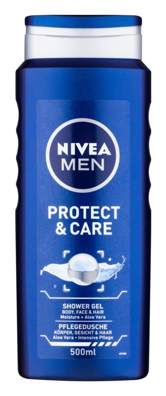 Nivea Men Protect & Care gel de dus 3 in 1