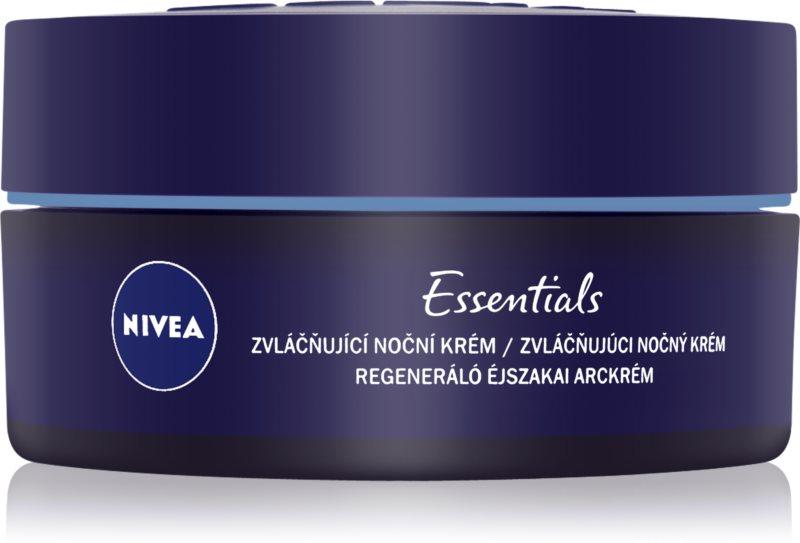 Nivea Aqua Effect regenerierende Nachtcreme für normale Haut und Mischhaut