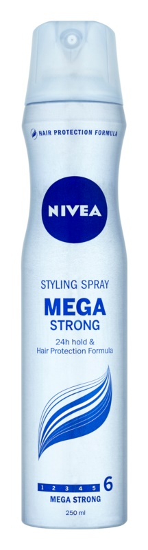 Nivea Mega Strong laca de pelo con fijación extra fuerte