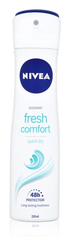 Nivea Fresh Comfort deodorant ve spreji 48h