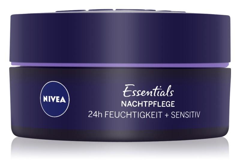 Nivea Essentials Soothing Night Cream for Sensitive Skin