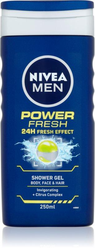 Nivea Power Refresh gel de dus