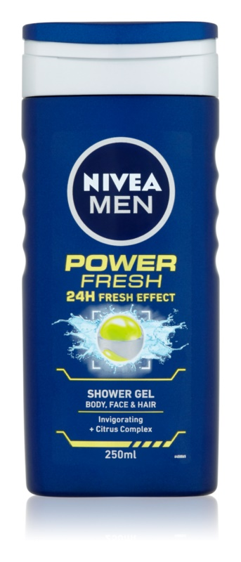Nivea Power Refresh gel de dus
