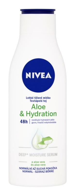 Nivea Aloe Hydration leite corporal leve  com aloe vera