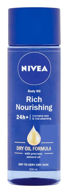 Nivea Rich Nourishing Nutrify Body Oil