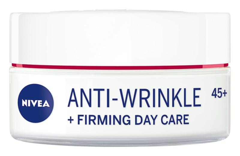 Nivea Anti-Wrinkle Firming zpevňující denní krém proti vráskám 45+