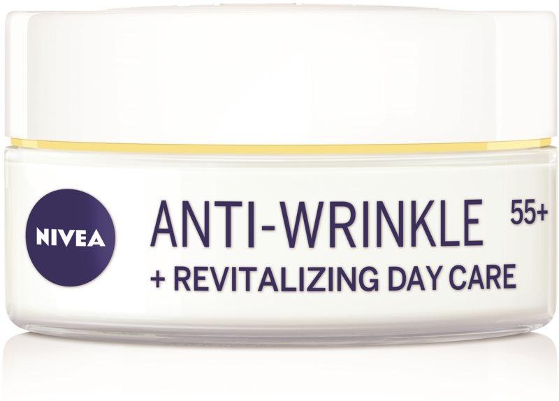 Nivea Anti-Wrinkle Revitalizing crema de día reparadora  antiarrugas